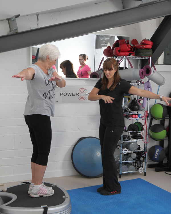 Power Plate Training St Ives